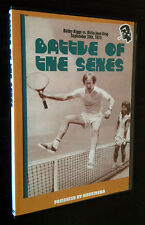 BATTLE OF THE SEXES, THE DVD 1973 TV broadcast Bobby Riggs Billie Jean King