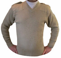 Perfect Xmas jumper present military style pullover sweater NATO in Xmas wrap