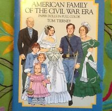 American Family Civil War Era Tierney New Book War Costume Fashion History COOL