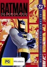 Batman The Animated Series Volume 1 4-Disc DVD Set Like New