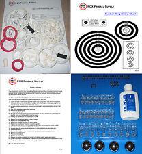 1996 Bally/Midway Safe Cracker Pinball Machine Tune-up Kit - aka Safecracker