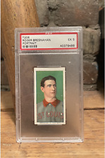 1909-11 T206 HOF Roger Bresnahan Portrait Sweet Caporal 150 PSA 5