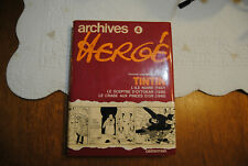 ARCHIVES HERGE TINTIN TOME 4   1980