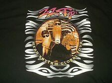 Zz Top 1997 Mean Rhythm Global Tour Concert T Shirt Sz 2Xl Xxl 100% Cotton Black