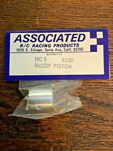 Vintage Associated McCoy MC5 McCoy Piston for Veco McCoy Conversion 1/8 RC CAR