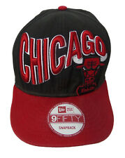 NBA Chicago Bulls Snapback Hat Cap New Era Windy City