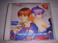 Sega DreamCast Dead or Alive 2 Japan DC F/S
