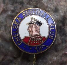 Antique Chelsea CFC Football Club Pensioner Nickname Logo Supporter Pin Badge
