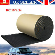 More details for acoustic foam tiles wall panels studio room sound proofing insulation pads roll