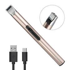 Elektronisch Lichtbogen Feuerzeug für Kerzen, Feuerwerk, Küche, Grill, Aufladbar