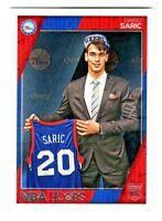2016-17 Panini Hoops #299 DARIO SARIC RC Rookie Philadelphia 76ers