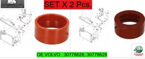 Volvo Xc90, V70, S60 Seal, Inletsilencer upper, lower 30778628, 30778629