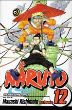 Naruto Vol 12: The Great Flight by Masashi Kishimoto 2006 PB Shonen Jump Manga