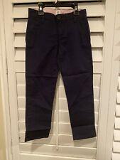 New listing Gap Girls Uniform Navy Blue Skinny Chinos with Gap Shield Size 6 Nwt