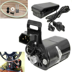220V 180W 0.9A Black Domestic Household Sewing Machine Motor With Controller!