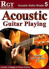 RGT London college of music exams Acoustic Guitar Grade 5