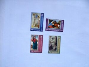 ASCENSION ISLAND: 2002 Christmas Paintings. 4 stamps U/M  Sg861/65