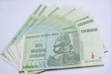 10 x 10 Trillion zimbabwe Circulated 2008 series AA - /100 Trillion series