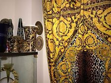 VERSACE CUSTOM FABRIC FOR CURTAINS BEDROOM LIVINGROOM BAROQUE RETIRED new