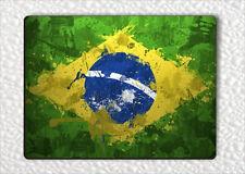 FLAG BRAZIL FRIDGE MAGNET -gmw3Z