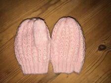 New Next Pink Mittens 6-12 Months
