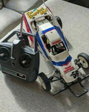 Tamiya 1988 Grasshopper 2 and controller - RC Car Collectable Vintage Original