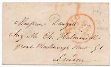 # 1849 RR Pd 1 St LEONARDS ON SEA UPP BACON'S SAXON HOTEL ADVERTISING VIGNETTE