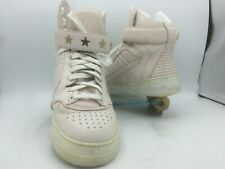 Givenchy Tyson Womens 39 / 9 Pink Leather Italy Metal Star Studs Hi Tops
