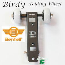 Birdy folding wheel Black,Made in South Korea,Minivelo