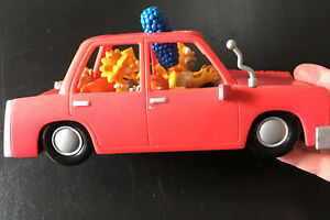 Simpsons Interactive Talking Family Car Homer Marge Bart Lisa Maggie Tested