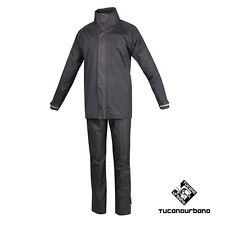 SET ANTIPIOGGIA TUTA IN NYLON ANTIVENTO SET DILUVIO EASY 566 TUCANO URBANO TG.L