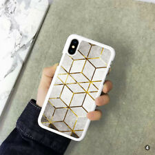 Marble Phone Case Cover For iPhone Samsung Huawei OnePlus ETC 110-4