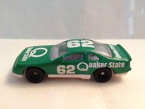 McDonalds Happy Meal 1993 Hot Wheels #8 Quaker State Thunderbird #62 green white
