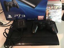 Sony Playstation 3 Super Slim 250 GB Bundle with 5 Games!