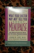015 Menopause The Breakthrough Book on Natural Progesterone by John R. Lee