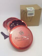 SharpStone V. 2.0 4pc. Grinder Red-Authentic W/ Serial Sz 2.2 & Gift Wood  Pipe