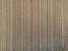 2Metre Morris Heather Green Mauve Wool 140cm wide Curtain/upholstery Fabric