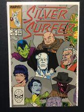 SILVER SURFER (1987 2nd Series) #29 NM- 9.2 KREE/SKRULL WAR CONTINUES