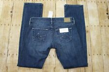 NWT $185 AG Adriano Goldschmied Women's Tomboy relaxed straight jeans 25x32