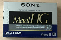 K7 / CASSETTE / TAPE - NEW SEALED SONY METAL HG 30 NEUVE SCELLE