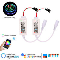 WiFi LED Controller for WS2811 WS2812B SK6812 RGB Addressable Strip