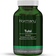 TULSI Ayurvedic Plant Herb Remedy Respiratory 120 Organic Vegetarian Capsules