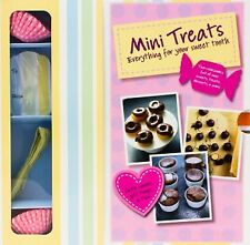 Mini Treats Recipe Book & Cases Desserts Pastries Chocolate Fudge Cookbook