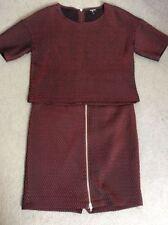 2 Piece Regular Textured Top Suits & Tailoring for Women