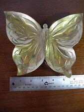 Brass Butterfly Candy / Trinket Dish Home Decor Vintage