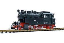 Dampflok HSB BR 996001-4, Massoth DCC, mit Strom vom Gleis, Spur G