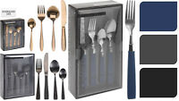 CUTLERY SET LUXURY STAINLESS STEEL AND 16 / 24PCS INCLUDE KNIFE SPOON FORK SPOON