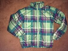 GIRLS 12/14 The North Face TRICLIMATE PLAID JACKET. INNER JACKET ONLY! EUC