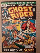 GHOST RIDER.. MARVEL SPOTLIGHT #7 3RD APPEARANCE OF GHOST RIDER! HIGHER GRADE!