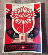 """OBEY Giant Shepard Fairey """"Power and Glory"""" Limited Edition Sticker"""